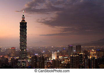 """It is the tallest building called """"Taipei 101"""""""