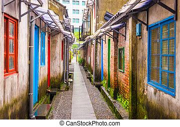 taipei, taiwan, dějinný, cesta