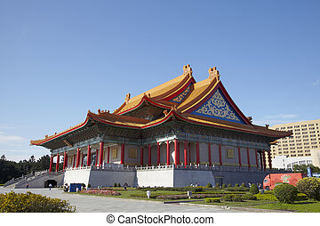Taipei,Taiwan,February, 12th, 2012: National Concert Hall with