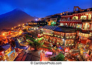 taiwán, aldea