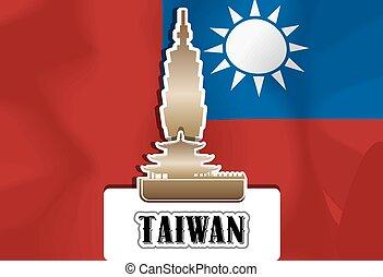 taiwan, illustration