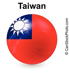 taiwan official state flag