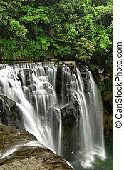 taiwan, vattenfall, shifen