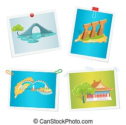 Taiwanese Attractions on Images Attached to Wall - Taiwanese...
