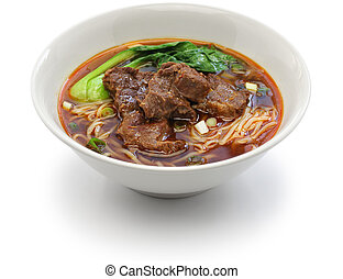 Taiwanese beef noodle soup - beef noodle soup, chinese...
