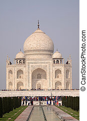 taj, agra, palaces), uttar pradesh, mahal, インド, (crown