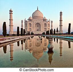 taj mahal, em, índia