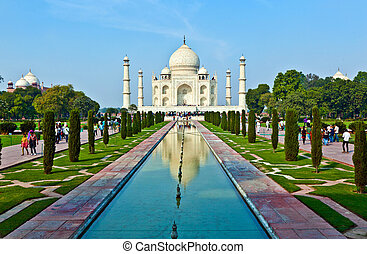 Taj Mahal in India  - Taj Mahal in India