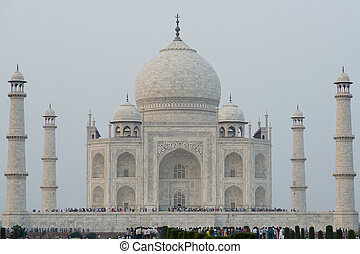 Taj Mahal, Mausoleum in Agra - Taj Mahal, mausoleum erected ...