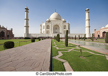 Taj Mahal mausoleum