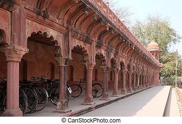 taj, palaces), mármol, sur, india, ivory-white, mahal, ...