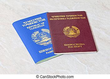 tajikistan, reisepässe
