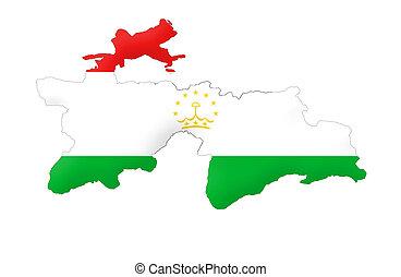 tajikistan, república