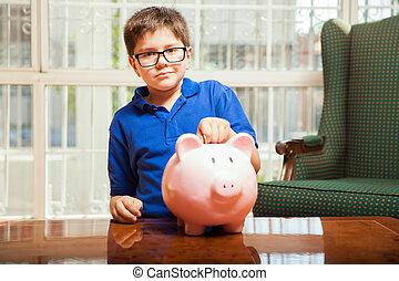 takarékbetét pénz, képben látható, egy, falánk part