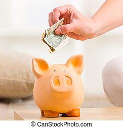 takarékbetét pénz