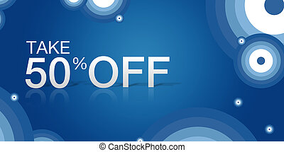 "Take 50% Off Coupon - Purple, high resolution ""Take 50% Off""..."