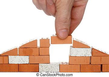 take a brick