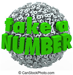 Take a Number Wait Your Turn Anticipating Wait in Line