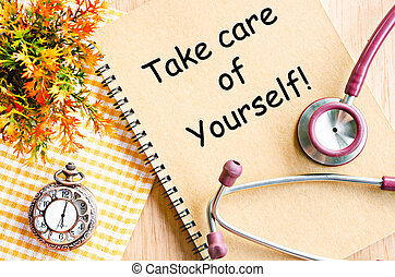 Take care of yourself.