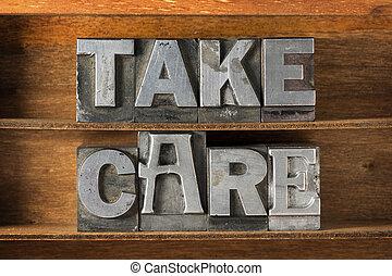 take care tray