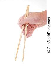 Take chopsticks