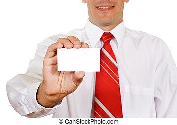 Take my card