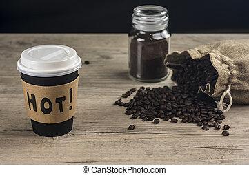 Take out coffee
