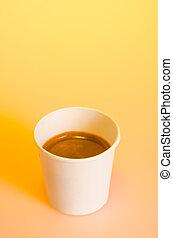 Take-out coffee
