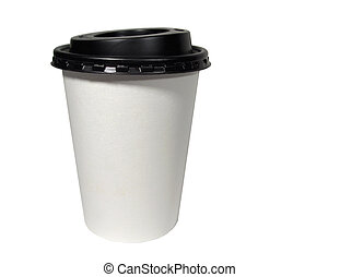 Take-Out Coffee - Paper take-out coffee cup