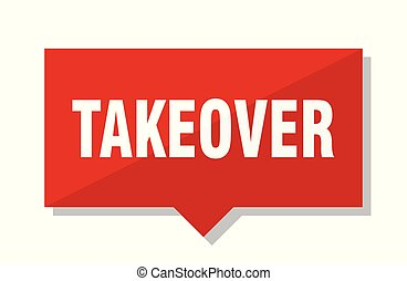 takeover red tag