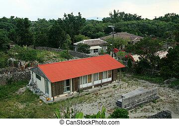 Taketomi Island , Okinawa, Japan