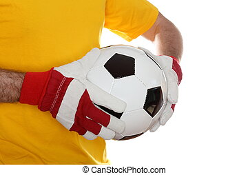 taking a ball