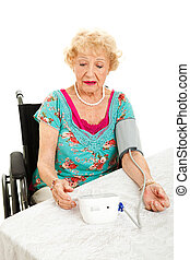 Taking Own Blood Pressure at Home