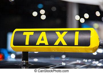 taksówka znaczą