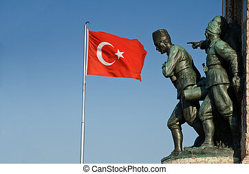 Taksim Monument of the Turkish Republic - Taksim Monument of...