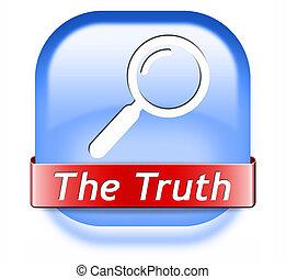 talál, igazság