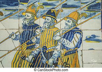 Azulejos talavera alfarer a del virgen prado for Calle prado 8 talavera dela reina