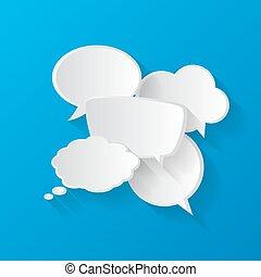 tale boble, samtalen