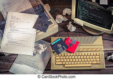talen, bevinding, programmering, oplossingen, algorithm