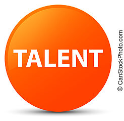 Talent orange round button