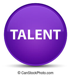 Talent special purple round button