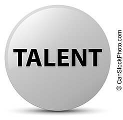 Talent white round button