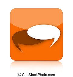 Talk bubbles icon