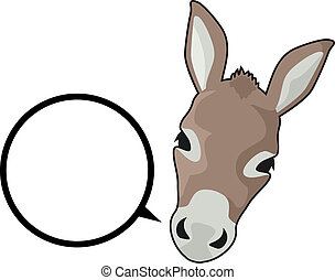 Talk donkey - Creative design of talk donkey