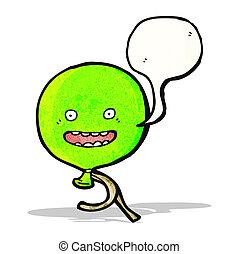 talking balloon cartoon character