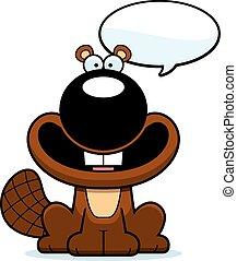 Talking Cartoon Beaver