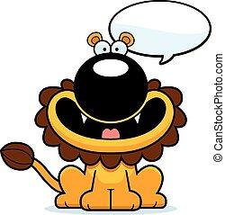 Talking Cartoon Lion