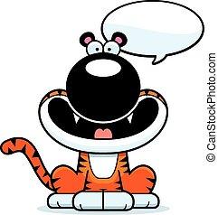 Talking Cartoon Tiger