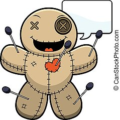 Talking Cartoon Voodoo Doll