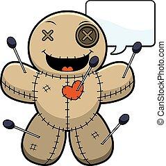 Talking Cartoon Voodoo Doll